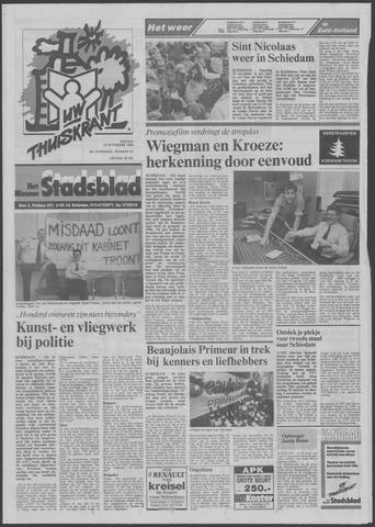 Het Nieuwe Stadsblad 1988-11-18
