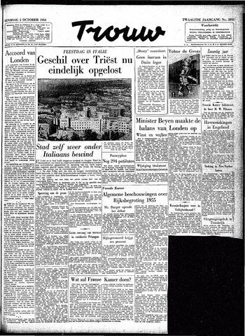 Trouw / De Rotterdammer 1954-10-05