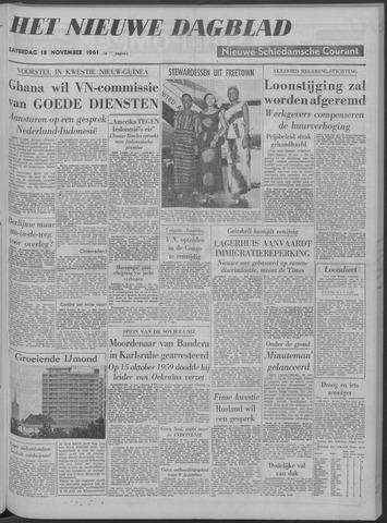 Nieuwe Schiedamsche Courant 1961-11-18