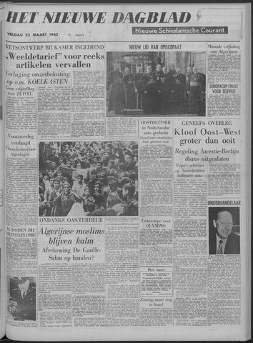 Nieuwe Schiedamsche Courant 1962-03-23