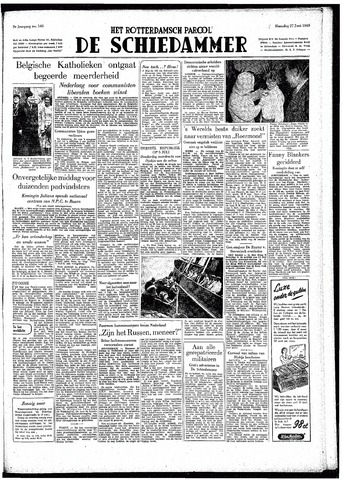 Rotterdamsch Parool / De Schiedammer 1949-06-27