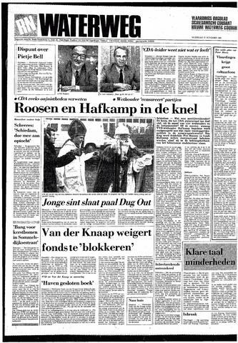 Rotterdamsch Nieuwsblad / Schiedamsche Courant / Rotterdams Dagblad / Waterweg / Algemeen Dagblad 1985-11-27