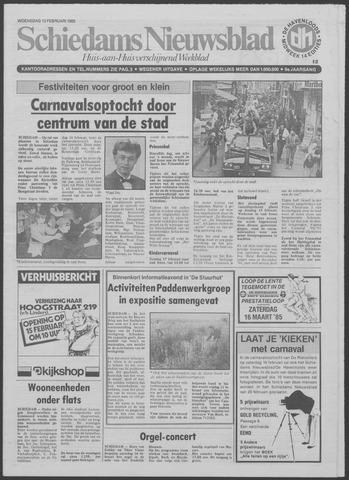 Schiedams Nieuwsblad 1985-02-13