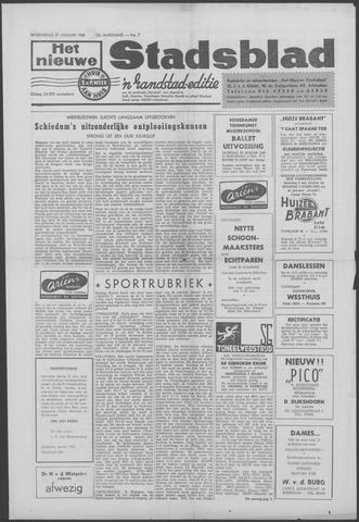 Het Nieuwe Stadsblad 1960-01-27
