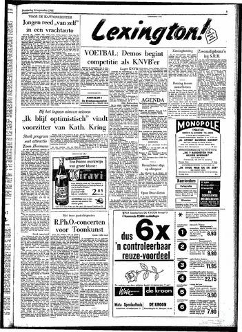 Rotterdamsch Parool / De Schiedammer 1961-09-14