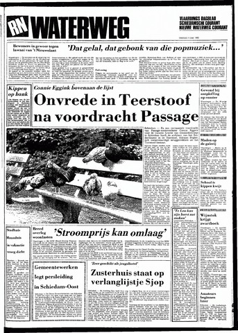 Rotterdamsch Nieuwsblad / Schiedamsche Courant / Rotterdams Dagblad / Waterweg / Algemeen Dagblad 1983-06-07