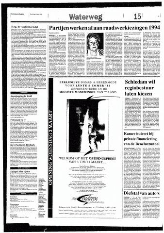 Rotterdamsch Nieuwsblad / Schiedamsche Courant / Rotterdams Dagblad / Waterweg / Algemeen Dagblad 1993-03-03