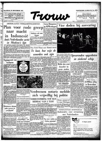 Trouw / De Rotterdammer 1957-12-30