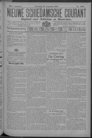 Nieuwe Schiedamsche Courant 1917-08-25