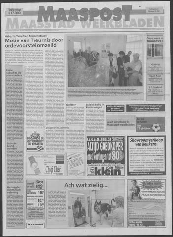 Maaspost / Maasstad / Maasstad Pers 1999-10-06