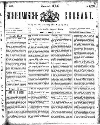 Schiedamsche Courant 1885-07-13