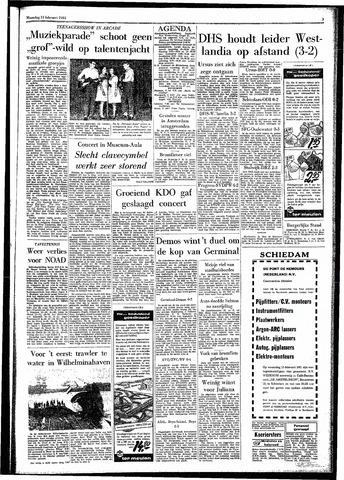 Rotterdamsch Parool / De Schiedammer 1961-02-13