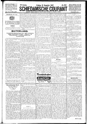 Schiedamsche Courant 1927-08-19