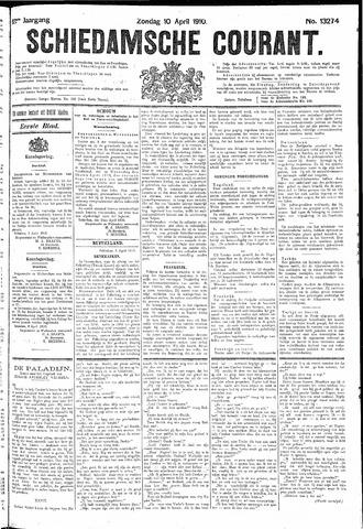Schiedamsche Courant 1910-04-10