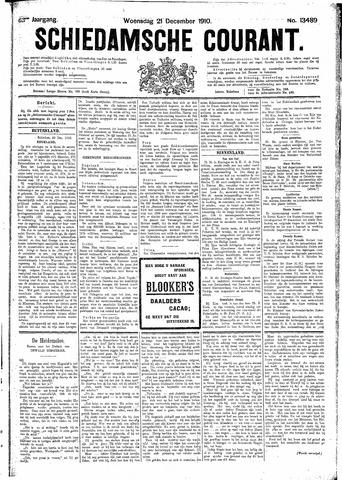 Schiedamsche Courant 1910-12-21