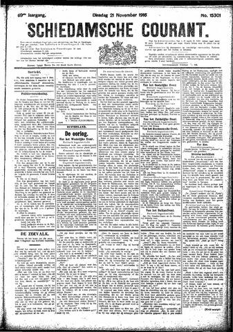 Schiedamsche Courant 1916-11-21