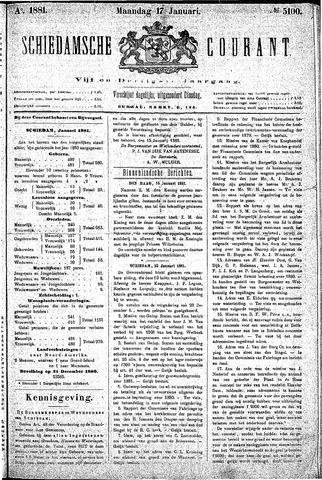 Schiedamsche Courant 1881-01-17