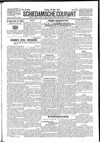 Schiedamsche Courant 1931-05-29