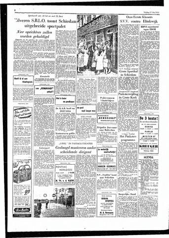 Rotterdamsch Parool / De Schiedammer 1955-05-27