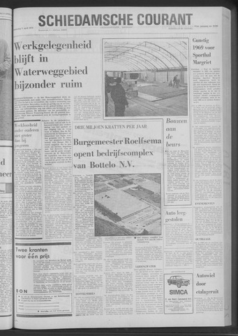 Rotterdamsch Nieuwsblad / Schiedamsche Courant / Rotterdams Dagblad / Waterweg / Algemeen Dagblad 1970-04-09