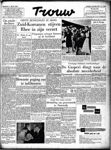 Trouw / De Rotterdammer 1953-06-09