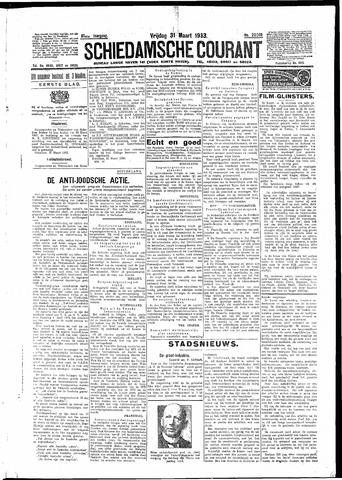 Schiedamsche Courant 1933-03-31
