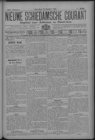 Nieuwe Schiedamsche Courant 1913-10-25