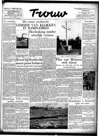 Trouw / De Rotterdammer 1954-02-02