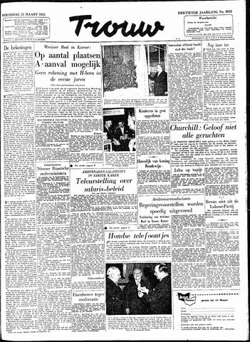 Trouw / De Rotterdammer 1955-03-23