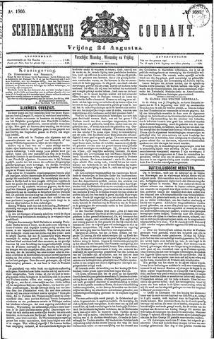 Schiedamsche Courant 1866-08-24