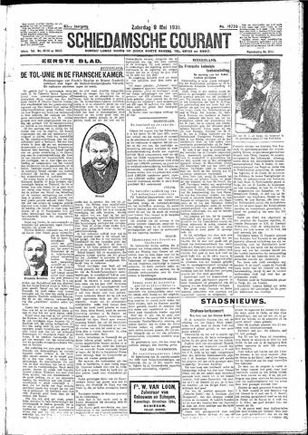 Schiedamsche Courant 1931-05-09