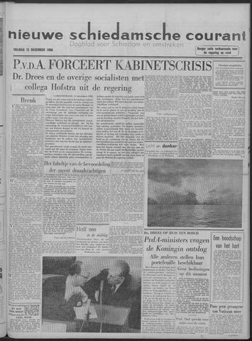 Nieuwe Schiedamsche Courant 1958-12-12