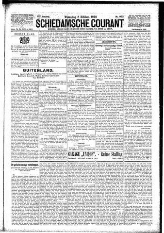 Schiedamsche Courant 1929-10-02