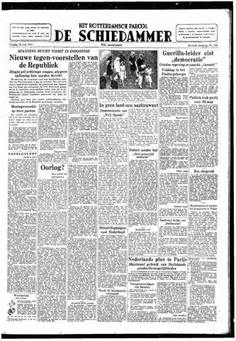 Rotterdamsch Parool / De Schiedammer 1947-07-18