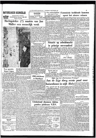Rotterdamsch Nieuwsblad / Schiedamsche Courant / Rotterdams Dagblad / Waterweg / Algemeen Dagblad 1965-09-08