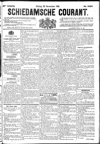 Schiedamsche Courant 1912-11-29