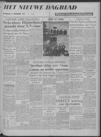 Nieuwe Schiedamsche Courant 1961-12-09