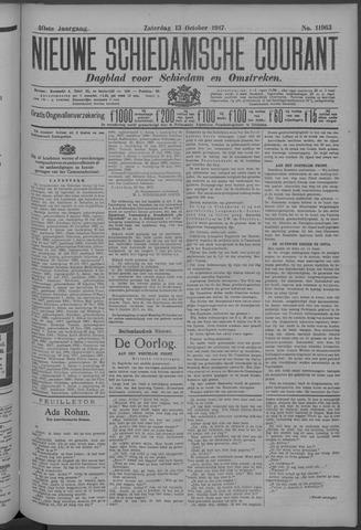 Nieuwe Schiedamsche Courant 1917-10-13