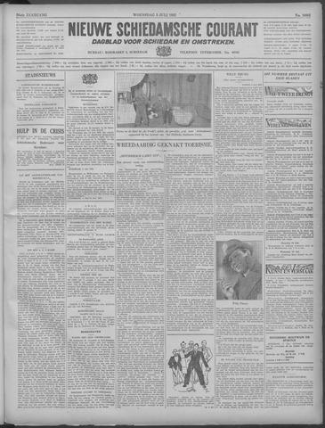 Nieuwe Schiedamsche Courant 1933-07-05
