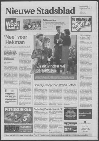 Het Nieuwe Stadsblad 2011-09-21