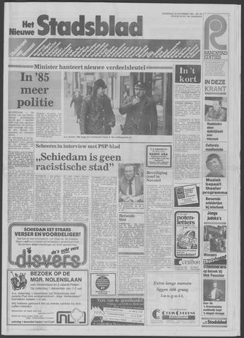 Het Nieuwe Stadsblad 1984-11-28