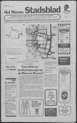 Het Nieuwe Stadsblad 1971-09-29