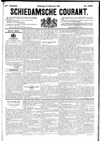 Schiedamsche Courant 1912-02-10