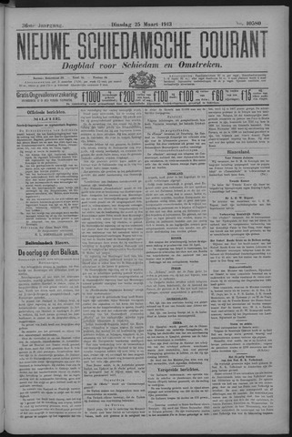 Nieuwe Schiedamsche Courant 1913-03-25