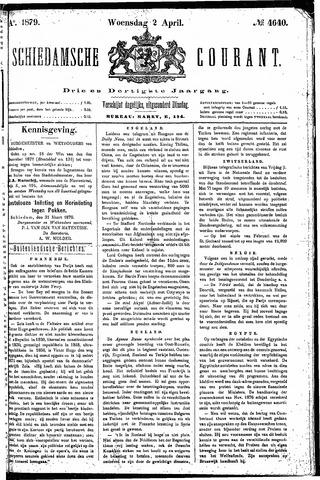 Schiedamsche Courant 1879-04-02