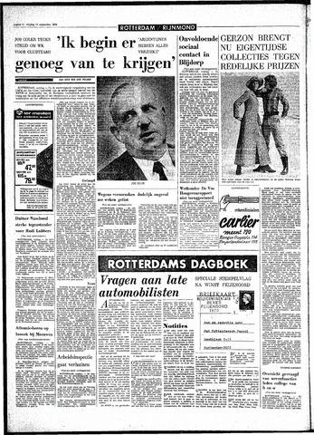 Rotterdamsch Parool / De Schiedammer 1970-09-11