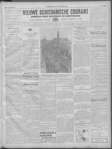 Nieuwe Schiedamsche Courant 1932-09-29