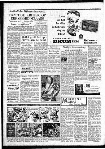 Rotterdamsch Parool / De Schiedammer 1957-10-07