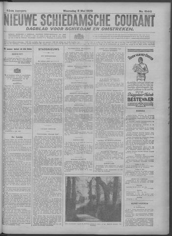 Nieuwe Schiedamsche Courant 1929-05-08
