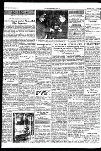 Rotterdamsch Nieuwsblad / Schiedamsche Courant / Rotterdams Dagblad / Waterweg / Algemeen Dagblad 1953-02-16